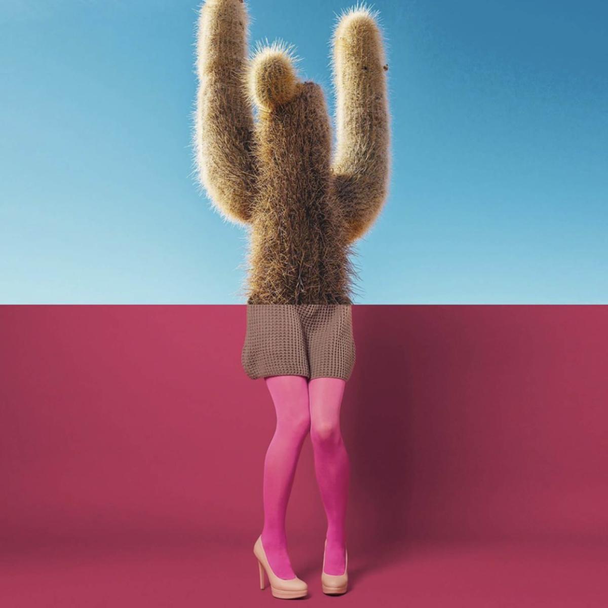 Hors paires - femme cactus